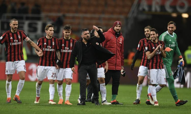 Il Milan di Gattuso è 'da dieci': 1-0 alla Sampdoria, Champions a 7 punti VIDEO