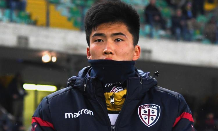 Cagliari, cambia il futuro di Han: dalla Juve al nuovo prestito