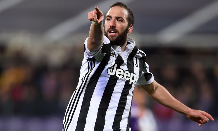 Juventus: Higuain ha detto sì al Chelsea, ma detta le sue condizioni