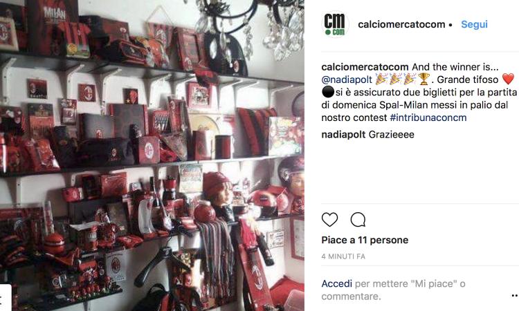 #intribunaconcm: ecco il vincitore dei biglietti per Spal-Milan FOTO e VIDEO