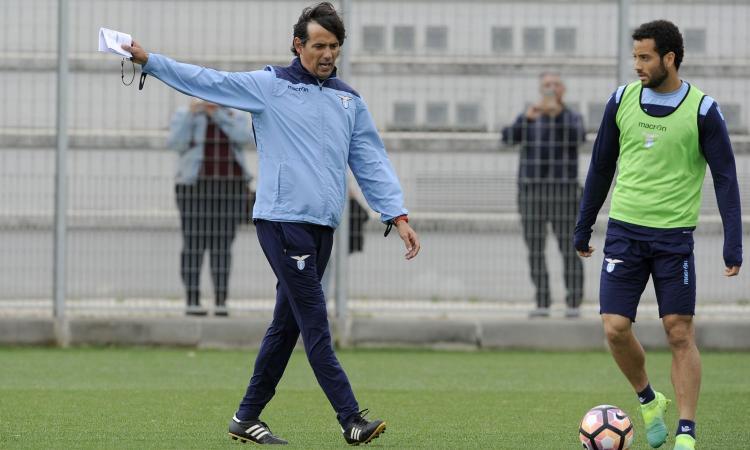 Lazio, Inzaghi e Felipe Anderson quasi alle mani: 'Tu con me non giochi più'