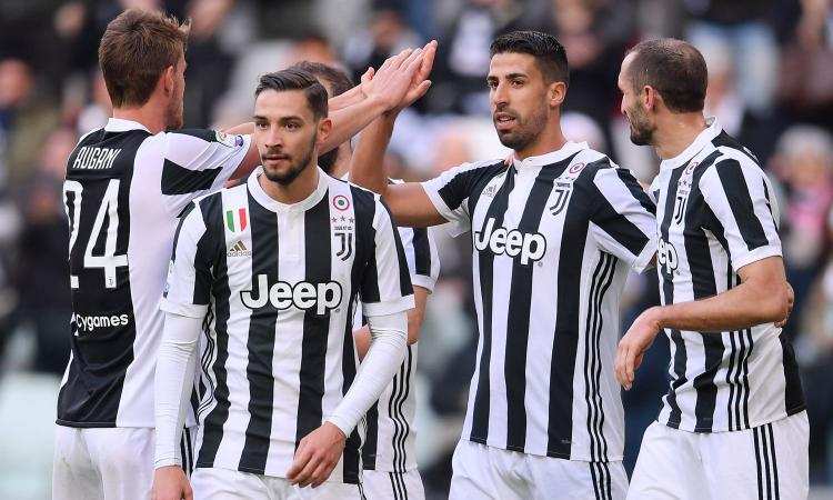 Juve-Sassuolo, le pagelle di CM: va in scena lo show di Khedira e Higuain