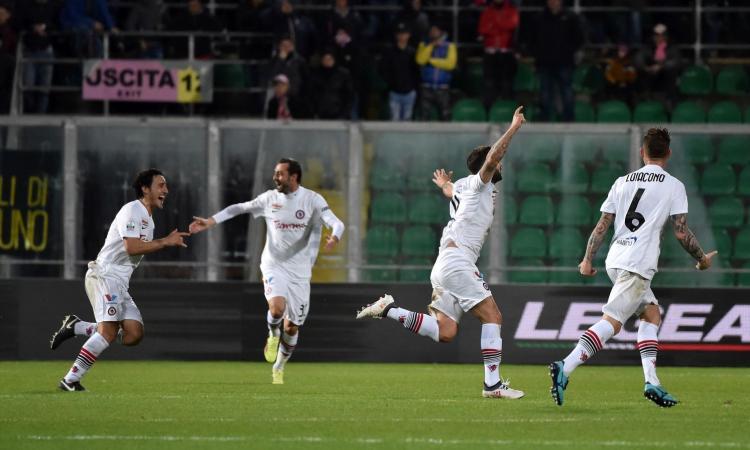 Foggia, Billong: 'Qui per vincere tutte le partite e non andare in C. Il rigore del Pescara non c'era'