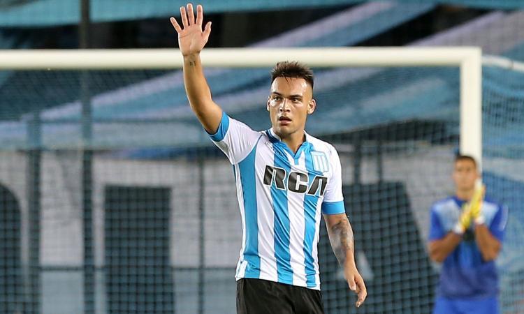 Lautaro Martinez: 'Mi piace la Serie A. Mi ispiro a Messi, Higuain e Aguero'