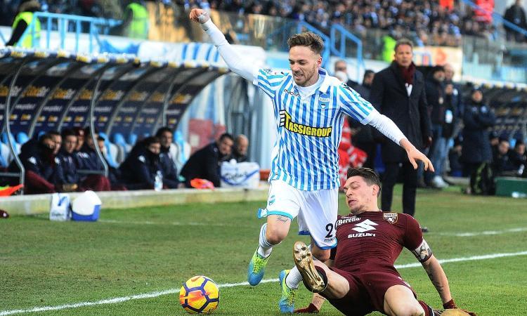 Lazio su Lazzari, la richiesta della Spal