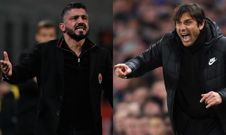 Milan, retroscena su Conte per giugno: così è cambiato il destino di Gattuso