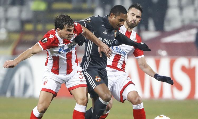 Europa League: pari senza reti tra Stella Rossa e CSKA Mosca