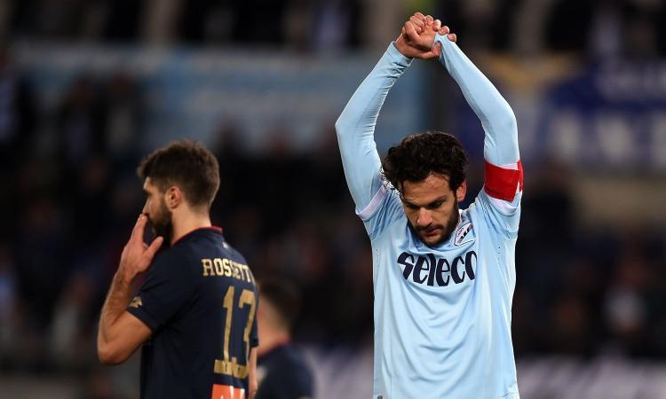 Lazio, Parolo: 'Non siamo inferiori alla Roma. Champions? Si decide con l'Inter'
