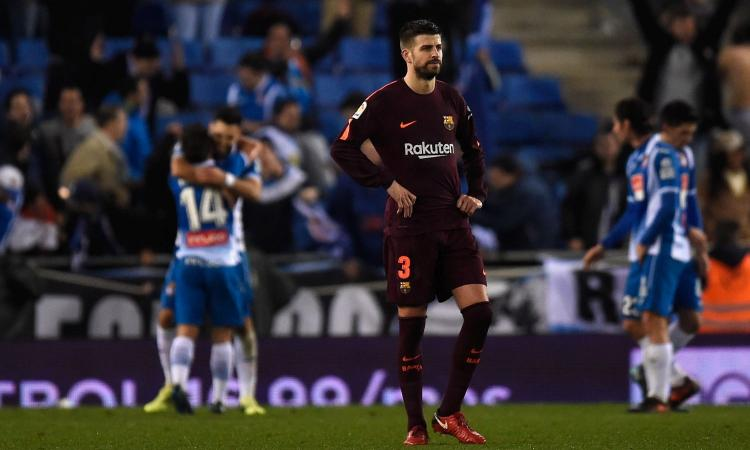 Piqué provoca, Sanchez Flores ci crede: quanta benzina su Espanyol-Barcellona