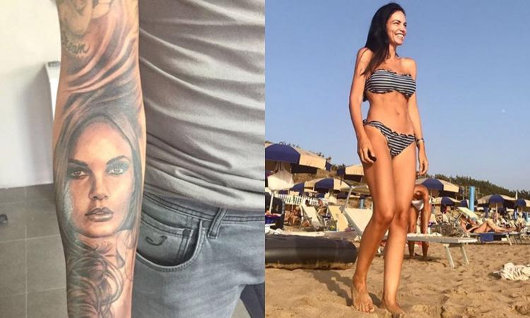 Aquilani si è tatuato Michela FOTO