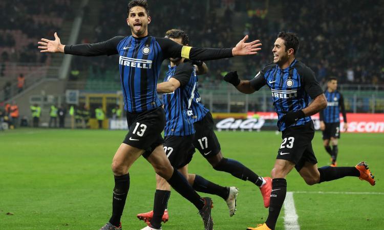 Inter, 2-0 al Benevento e terzo posto