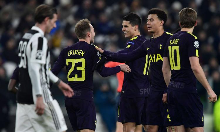Tottenham superiore alla Juve in tutto: Allegri è a corto di uomini, male Buffon