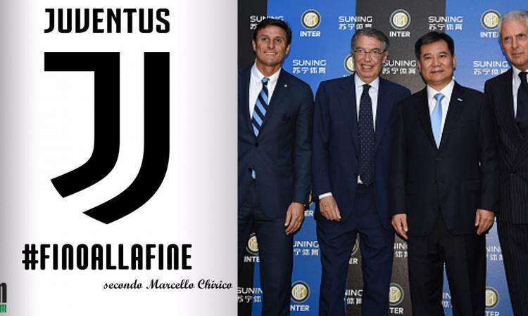 La Juventus fa 'impazzire' Inter e Milan