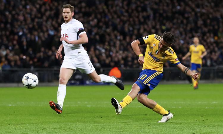 Tottenham-Juventus 1-2, il tabellino