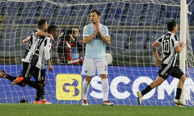 Laziomania: grazie mille, cara Juventus
