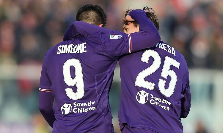 Fiorentina, Simeone e la ricerca del gol: più lo vuole, più gli sfugge