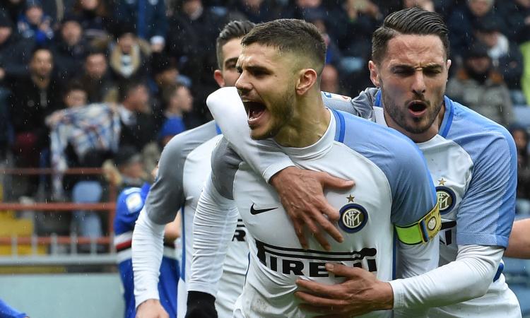 Inter, Icardi non aveva dubbi. Ha giocato con le scarpe con il numero 100 FOTO
