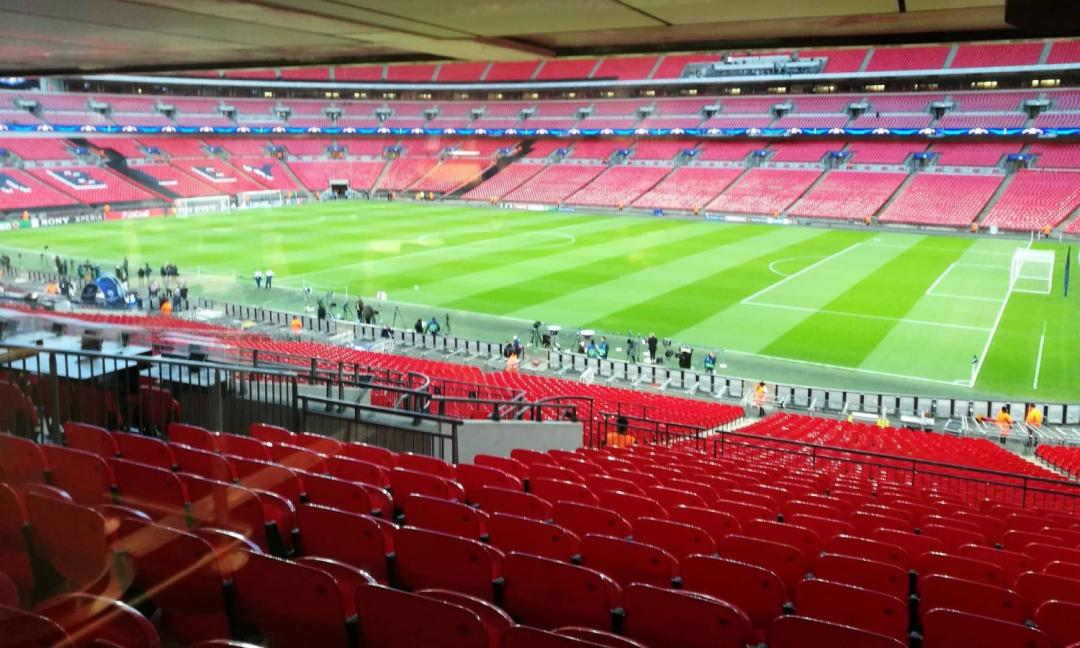 Wembley, che test!