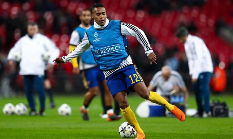 Allarme Juve: Alex Sandro ko col Brasile, c'è la lesione muscolare