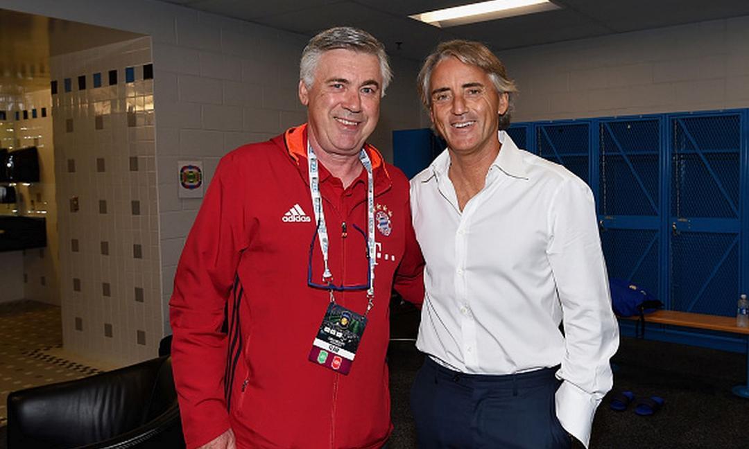 Mancini vs. Ancelotti, identikit diversi per obiettivi comuni