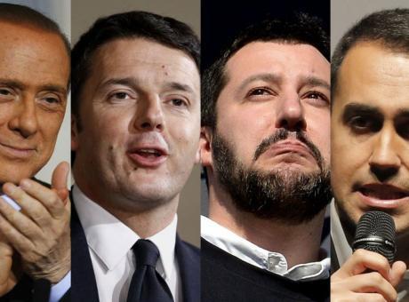 Renzi contro Salvini a Porta a Porta da Vespa: 'Meglio dell'Italia'