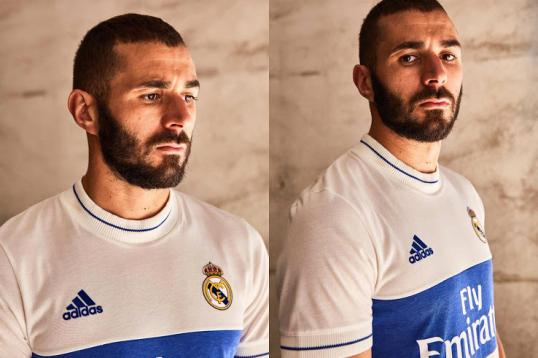 2663590d9 Photos  Real Madrid release 2018 retro  Icon  shirt