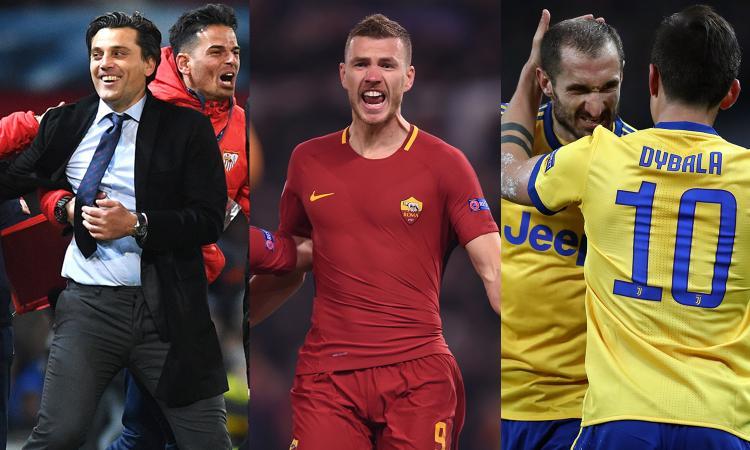 Roma, Juve e Montella: il calcio d'Italia non è morto nonostante Ventura. Ma la finale di Champions è fuori portata