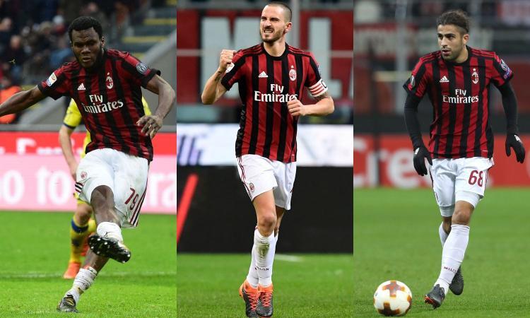 Milan, rebus rigori: Bonucci si candida tra Kessie e Ricardo Rodriguez
