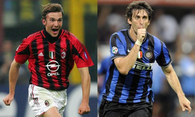 Da Shevchenko e Milito a Suso e Icardi: Milan-Inter, i 10 uomini derby
