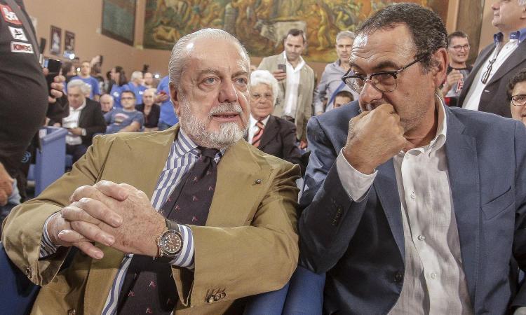 De Laurentiis congeda Sarri: 'Grazie Maurizio, hai dato prestigio al Napoli'