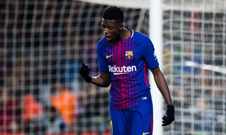 Dembelé: 'Difficile ambientarsi qui, ma resterò a Barcellona a lungo'