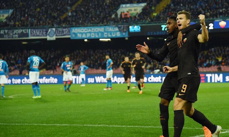 Incubo Napoli: perde 4-2 in casa contro la Roma, ora la Juve può superarlo