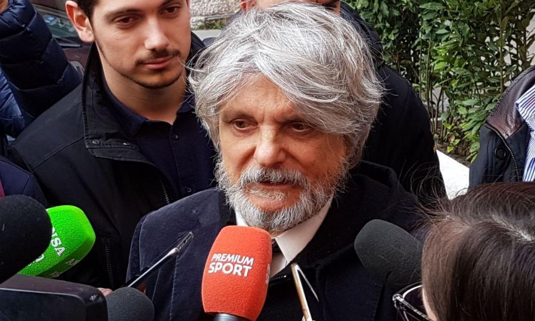 L'assurdo Ferrero presenta Ranieri e bacchetta la stampa