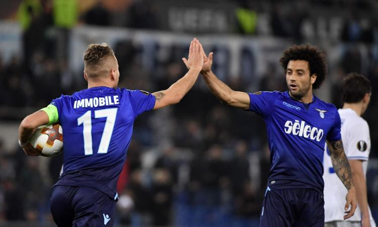 Lazio-Dinamo Kiev 2-2: il tabellino