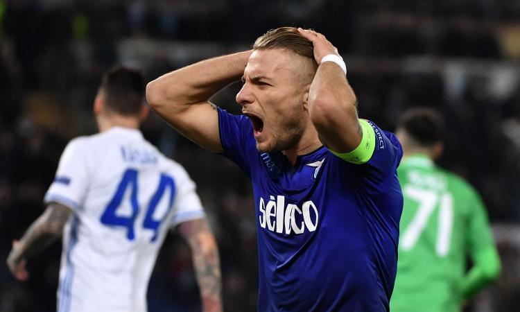 Immobile si ferma al palo, Moraes beffa la Lazio: 2-2 con la Dinamo Kiev