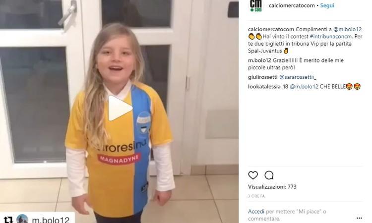 #intribunaconcm: il vincitore dei biglietti vip per Spal-Juve! FOTO E VIDEO