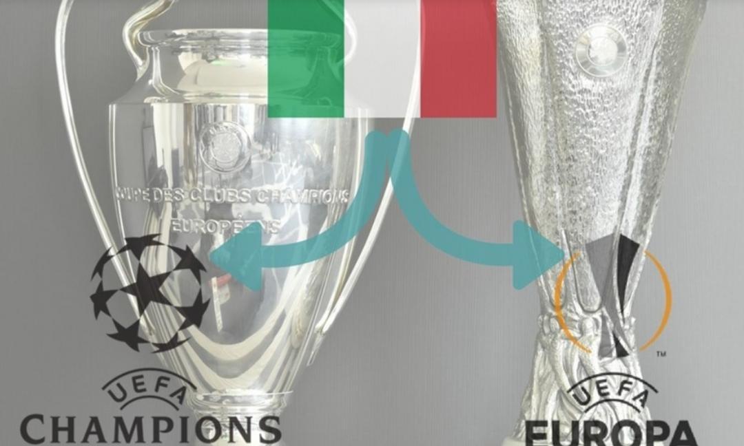 Juve e Napoli fuori dalle Coppe: game over Italia