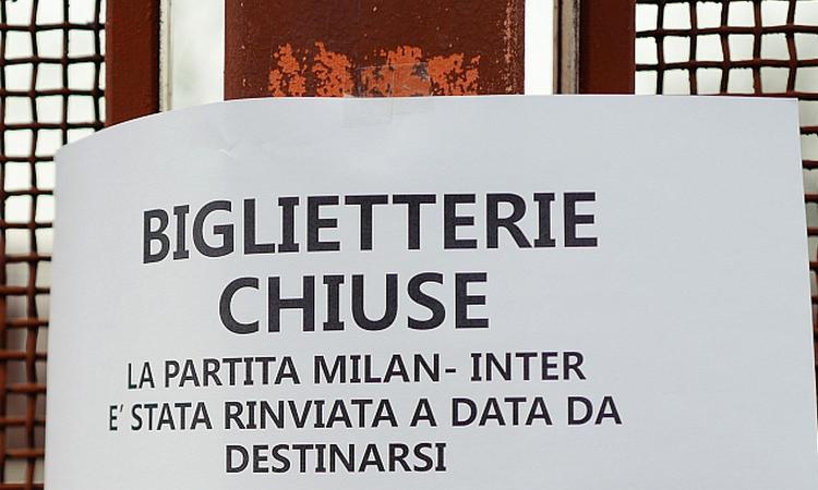 Milan-Inter si può giocare addirittura a campionato finito: ecco perché