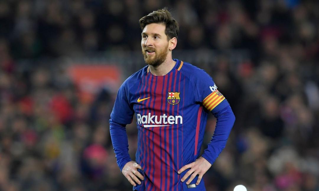 Messi non può più reggere il confronto...