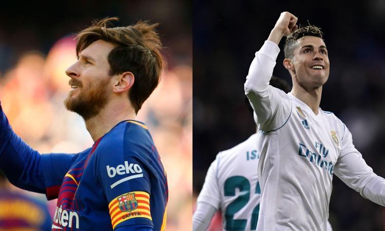L'esaltante duello del gol tra Messi e Ronaldo: Juve e Roma sono avvisate