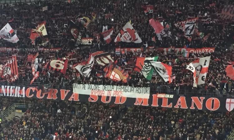 Milan, la Curva Sud ricorda Astori: 'Uniti al dolore della famiglia'