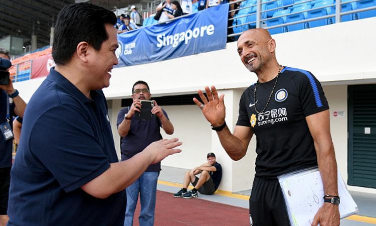 Inter, Thohir: 'Champions possibile, io e la squadra crediamo in Spalletti'