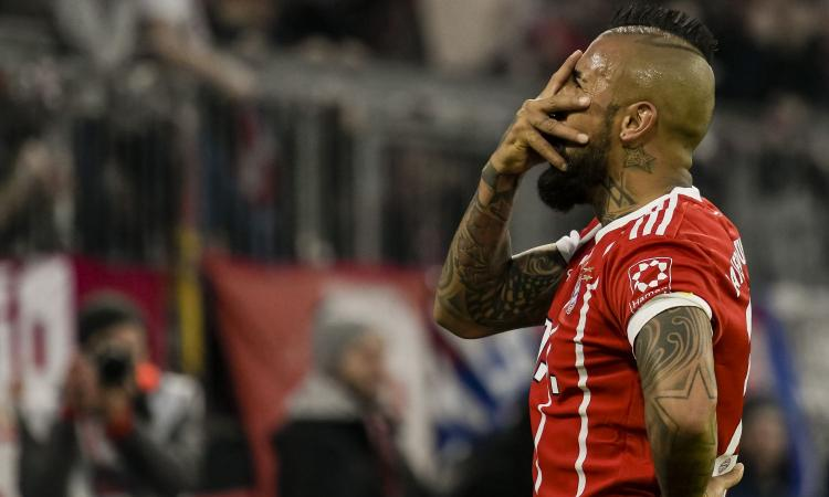 Bayern Monaco, Vidal si opera al ginocchio: a rischio la semifinale col Real