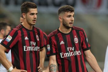 Andre Silva Cutrone sconsolati Milan
