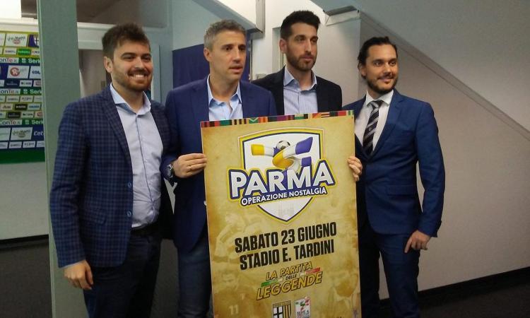 Operazione Nostalgia: sabato prossimo la 'Partita delle Leggende' tra Parma anni 90-Campioni Serie A, i nomi!