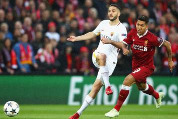Manolas Roma Firmino Liverpool concentrati