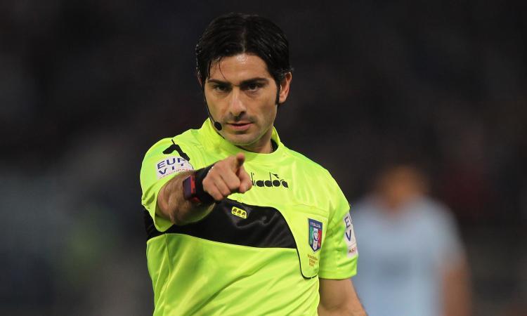 Serie A: Pasqua arbitra Brescia-Juve, il big match Inter-Lazio va a Maresca