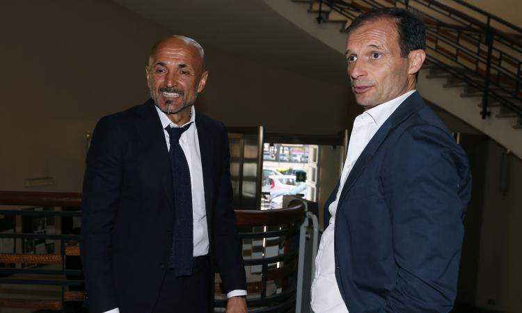 Inter, bilancio negativo per Spalletti contro Allegri