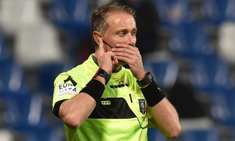 L'ex arbitro Pieri: 'Rigore inesistente dato alla Juventus'