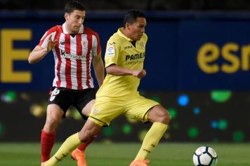 bacca, villarreal, controllo, de marcos, athletic bilbao, 2017/18